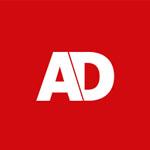 Logo van het AD